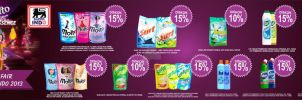 Cleaning Fair indo lion ,unilever by utmade