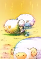 An afternoon with sheep by ocarina-CD
