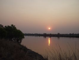 Kafue River Sunset by Thaylien