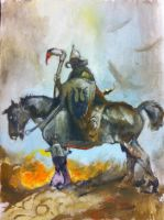 Death dealer traditional practise by r30n