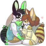 You and I :Caramel and Spearmint: by AppleDew