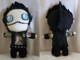 Andy Biersack Plush Doll 2 by TatsuoMizushima