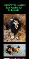 Scar The Posable Art Doll by Eviecats