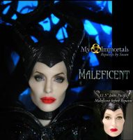 New Maleficent Repaint by my-immortals