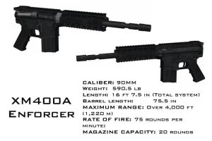 XM400A Enforcer by Dangerman-1973
