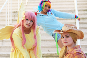 MLP Cosplay: The Pony Trio by Awesome-Vivi