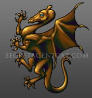 Pern Dragon Rampant by WICKED-ZOEYGIRL