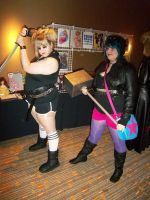 AFest '10: Roxie and Ramona by TEi-Has-Pants