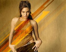 Angelina Jolie With Arrows by frturan