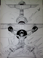one piece AFRO POWER by mayshadow