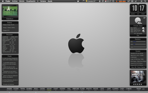 My Desktop Snow Leopard 10.6.7 by satyriko