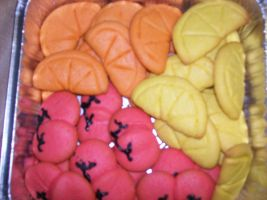 Fruit Cookies by TheOnlySarah