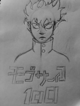 Mob Psycho 100 by The-Emeralds