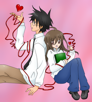 Our Red String of Fate by Hishima