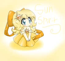 Chibi Sun Spirit by SomeJaneDoe