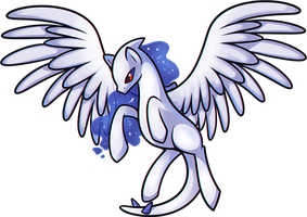 My Little Ponimon - Lugia by Dragoart