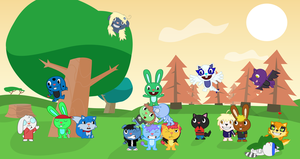 Having fun with friends by Wopter