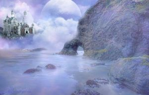 Castle in the Myst by Ravenhart
