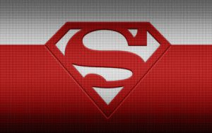 Superman Red Macbook Pro Background by KalEl7