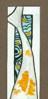 koi bookmark by DawnstarW