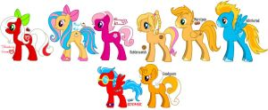 MLP: FIM OCs by GothicKitta