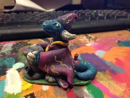 Wizard Dragon D20 Dice Holder by omfgitsbutter