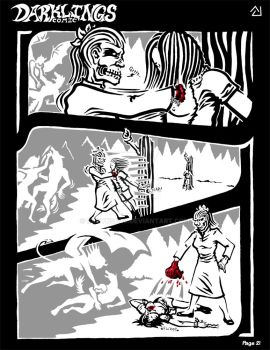 Darklings - Issue 5, Page 21 by RavynSoul