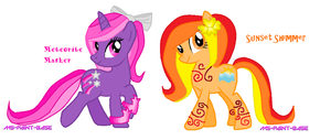 My Little Pony Friendship is Magic Ponies by DesuPanda98