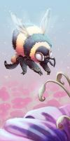 Painted Bee by painted-bees