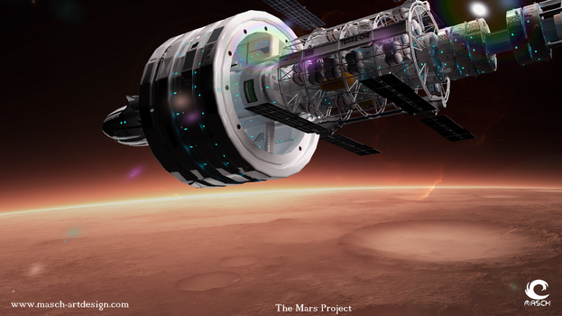 The Mars Project - Die Ankunft by MASCH-ARTDesign