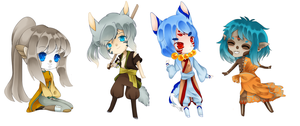 CM : Chibi Batch by Angel-chuu