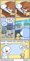 Lookout Dog by theodd1soutcomic