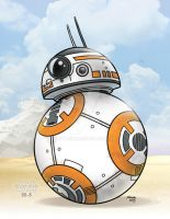 BB-8 on Jakku by JTampa