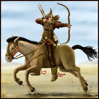 Thalestris, Queen of Amazons by Crowsrock