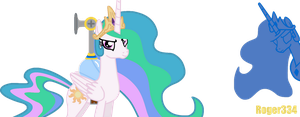 Super Celestia Sunshine by Roger334