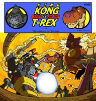 Kong VS T-Rex 006 by BongzBerry