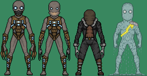 Creepypasta Micro Hero Redesigns 2 by MrEtsam