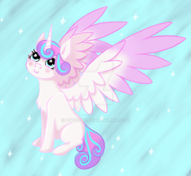 Mlp- P(ur)rincess Flurry Heart by Oves861