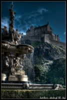 edinburgh - last blue-s by haq