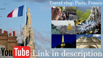 Travel Vlog: Paris, France by MarylandLovely