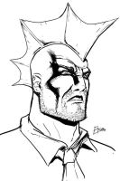 Savage Dragon sketch by Supajoe