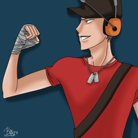 TF2 -The Scout- by UnseenChaser