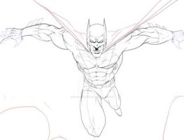 Batman MOTP: WIP by RogueSamurai