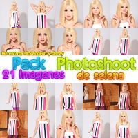 Pack Photoshoot selena by luceroval