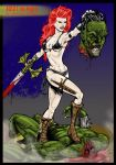 Red Sonja color by SliceofFate