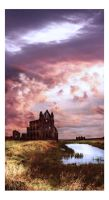 Whitby Abbey II by dreamsofwinter