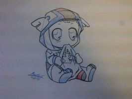 Little Lars cosplaying! by Sidian07