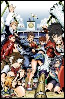 Rival Schools - Taiyo High Team by jokerfran