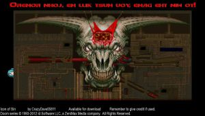 DL - Doom II Icon of Sin by CrazyDave55811