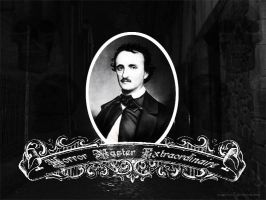 Edgar Allen Poe Wallpaper by sandalhat16